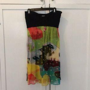 Diane Von Furstenberg summer dress.